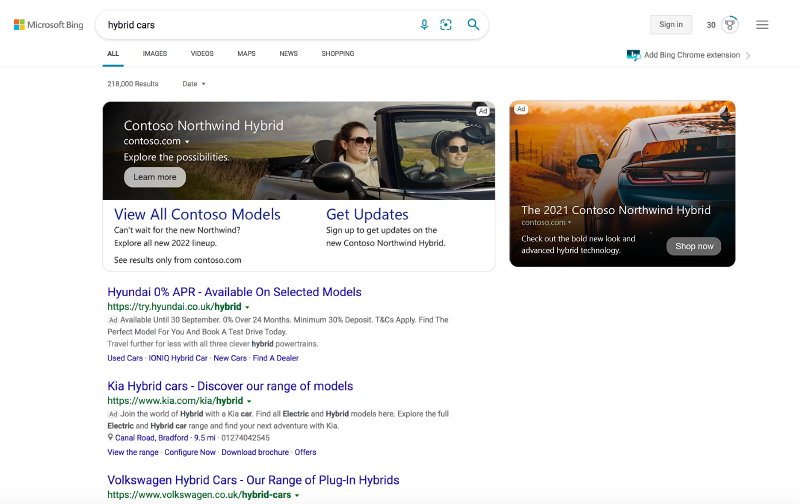 Microsoft Ads Latest Ad Format – Multimedia Ads